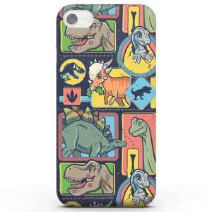 Jurassic Park Cute Dino Pattern Phone Case for iPhone and Android