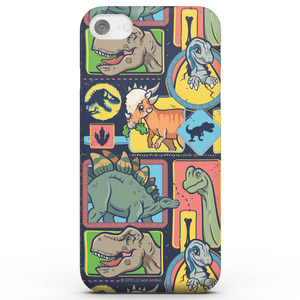 Coque Smartphone Cute Dino Pattern - Jurassic Park pour iPhone et Android