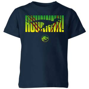 Jurassic Park Run! Kids' T-Shirt - Navy