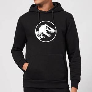 Jurassic Park Circle Logo Hoodie - Black
