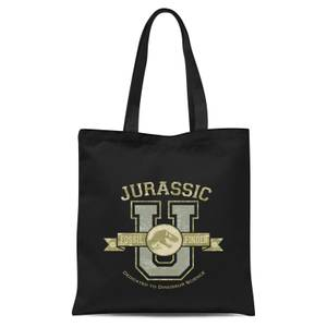 Jurassic Park Fossil Finder Tote Bag - Black