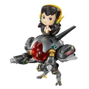 Overwatch Cute But Deadly D.Va & Meka Carbon Edition Figure