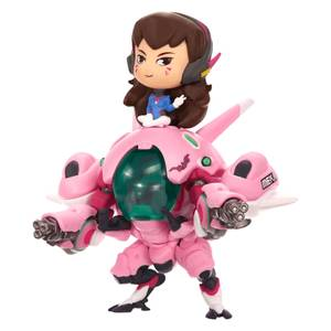Overwatch Cute But Deadly D.Va with MEKA Figure