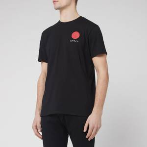Edwin Men's Japanese Sun T-Shirt - Black
