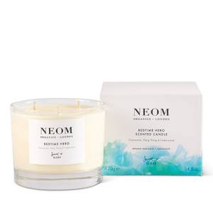 NEOM Bedtime Hero Scented Candle 3 Wick