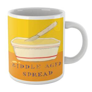 Poet and Painter Middle Aged Spread Mug