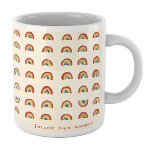 Poet and Painter Follow Your Rainbow Mug