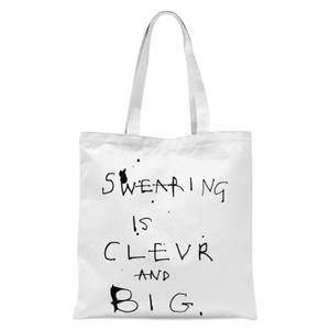 Poet and Painter Swearing Is Tote Bag - White