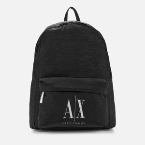 Armani Exchange Men's Ax Logo Backpack - Black