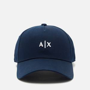 Armani Exchange Men's Small Logo Cap - Navy