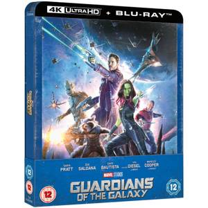 Guardians of the Galaxy - Zavvi Exclusive 4K Ultra HD Steelbook (Includes 2D Blu-ray)