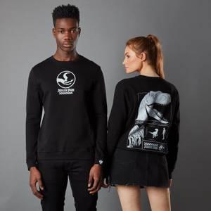Jurassic Park Primal Raptor Unisex Sweatshirt - Black