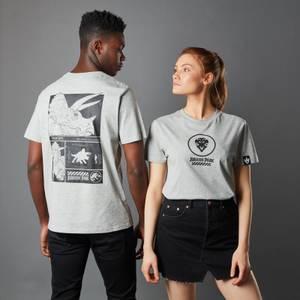 T-shirt Jurassic Park Primal Triceratops - Gris - Unisexe