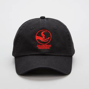 Jurassic Park Primal Raptor Crew Embroidered Cap - Black