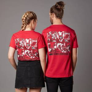 T-shirt Marvel Comics Group - Rouge - Unisexe