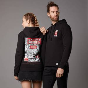 Marvel The Avengers Issue 1 Unisex Hoodie - Black
