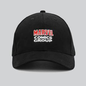 Marvel Comics Curved Peak Cap - Black