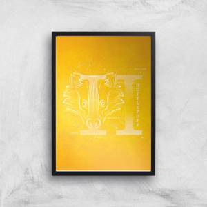 Harry Potter Hufflepuff Giclee Art Print
