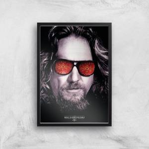 The Big Lebowski Giclee Art Print