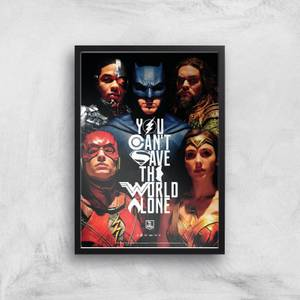DC Justice League Giclee Art Print