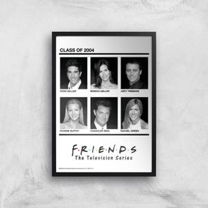 Friends Class Of 2004 Giclee Art Print