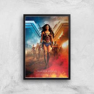 DC Wonder Woman Giclee Art Print