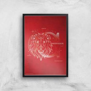 Harry Potter Gryffindor Giclee Art Print