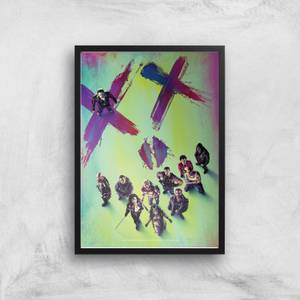 DC Suicide Squad Giclée Kunstdruck
