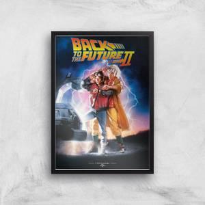 Poster Artistico Ritorno al Futuro Parte 2