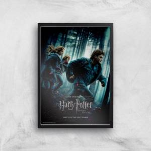 Harry Potter and the Deathly Hallows Part 1 Giclee Art Print