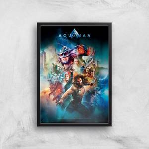 DC Aquaman Giclée Kunstdruck