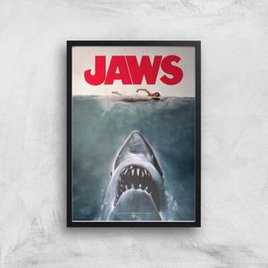 Jaws Giclee Art Print