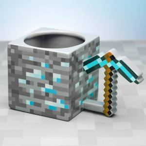 Minecraft Pickaxe Oversized Mug