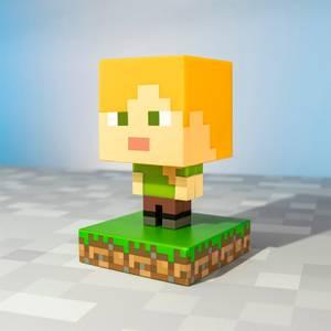 Icône Lumineuse Alex Minecraft