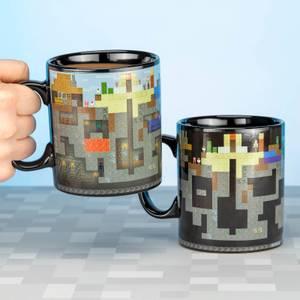 Minecraft XL Heat Change Mug