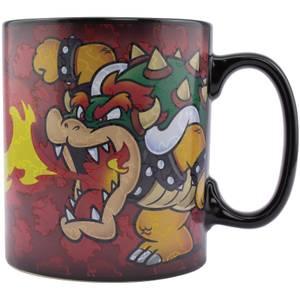 Nintendo Mug XL Bowser Super Mario Changement Avec Température