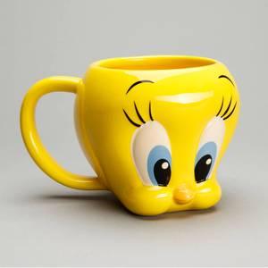 Looney Tunes Tweety Shaped Mug