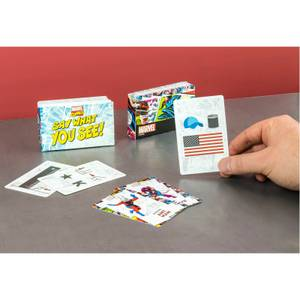 Marvel Say What You See Card Game