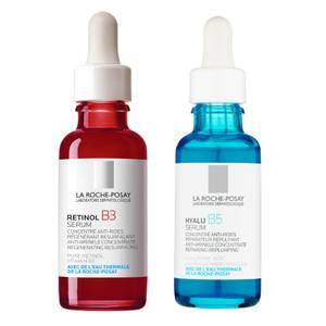La Roche-Posay Retinol and Hyaluronic Acid Night Serum Duo