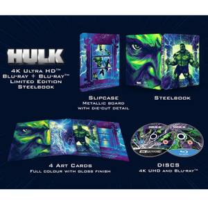 Hulk (2003) - Steelbook 4K Ultra HD (Blu-ray 2D Inclus) - Exclusivité Zavvi