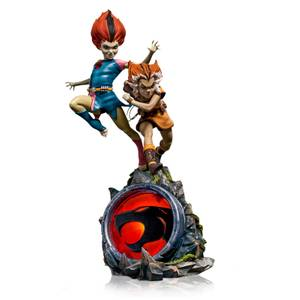 Statuette Deluxe WilyKit & WilyKat à l'échelle 1/10 BDS Art Scale Cosmocats 22cm - Iron Studios