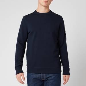 BOSS Casual Men's Walkup 1 Relaxed Fit Sweatshirt - Dark Blue