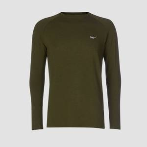 MP Men's Performance Long-Sleeve Top - Army Green Marl