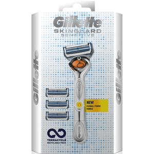 SkinGuard Sensitive Flexball Razor and Blades - 4 Blade Refills