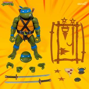 Super7 Teenage Mutant Ninja Turtles ULTIMATES! Figure - Leonardo