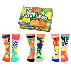 United Oddsocks Women's Freshly Squeezed Socks Gift Set