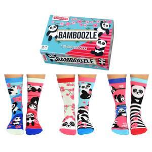 United Oddsocks Women's Bamboozle Socks Gift Set