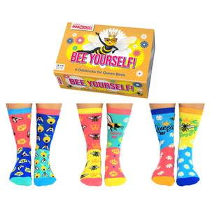 United Oddsocks Women's Bee Yourself Socks Gift Set