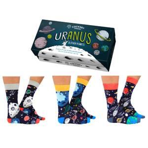 Cockney Spaniel 'Uranus' Sock Gift Set