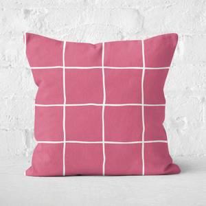 Check Square Cushion